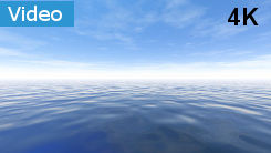 Background with blue sky and sea